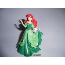 Figurine - Disney - La Petite Sirène - Ariel robe verte - Bullyland
