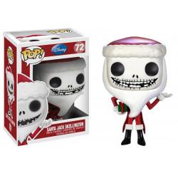 Figurine - Pop! Disney - L'Etrange Noël de Mr Jack - Santa Jack - Vinyl - Funko