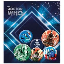 Badge - Doctor Who - Retro - GB Eye
