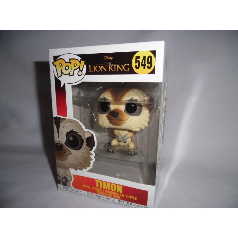 Funko Pop Disney THE LION KING Le Roi Lion//Timon Nº 549 FLOCKED Vinyle