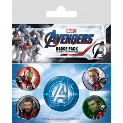 Badge - Marvel - Avengers Endgame - Quantum Realm Suits - Pyramid International