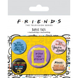Badge - Friends - Quotes - Pyramid International