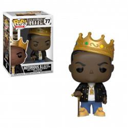 Figurine - Pop! Rocks - Notorious B.IG. - Notorious BIG with Crown - Vinyl - Funko