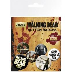 Badge - The Walking Dead - Mix - GB Eye