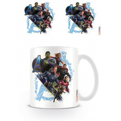 Mug / Tasse - Marvel - Avengers Endgame - Attack - Pyramid International