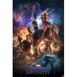Poster - Marvel - Avengers Endgame - From the Ashes - 61 x 91 cm - Pyramid International