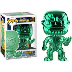 Figurine - Pop! Marvel - Avengers Infinity War - Thanos Chrome Vert - Vinyl - Funko