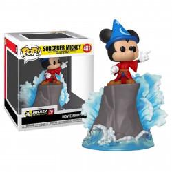 Figurine - POP! Disney - Fantasia - Movie Moments - Mickey Sorcerer - Funko