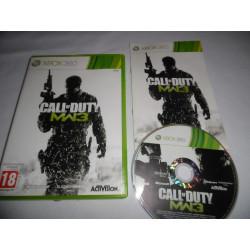 Jeu Xbox 360 - Call of Duty : Modern Warfare 3