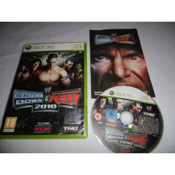 Jeu Xbox 360 - Smackdown vs Raw 2010