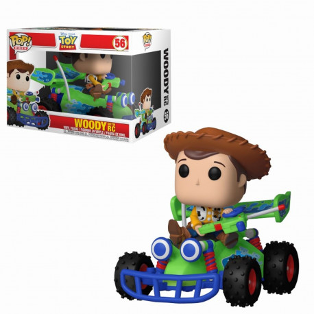 Figurine - Pop! Disney - Toy Story - Woody with RC - Vinyl - Funko