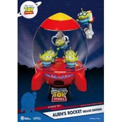 Figurine - Disney - D-Stage - Toy Story Alien's Rocket Deluxe Edition - Beast Kingdom Toys