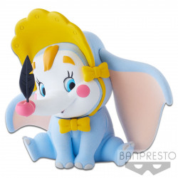 Figurine - Disney - Fluffy Puffy - Dumbo Clown - Banpresto
