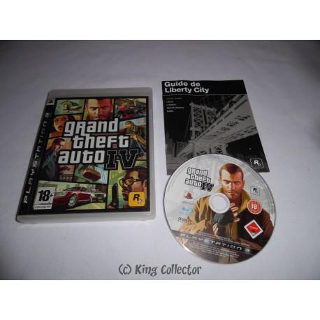 Jeu Playstation 3 - Grand Theft Auto IV - PS3