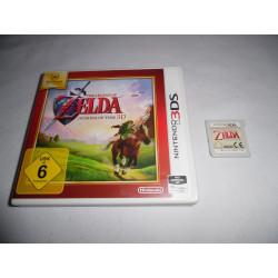 Jeu 3DS - The Legend of Zelda : Ocarina of Time 3D (Nintendo Selects)