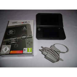 Console - Nintendo 3DS - New 3DS XL (Metallic Black) + chargeur