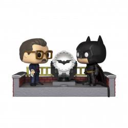 Figurine - Pop! Heroes - Movie Moments - Batman with Light Up Bat Signal - N° 291 - Funko