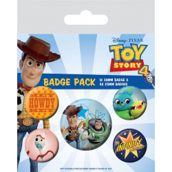 Badge - Disney - Toy Story - Friends for Life - Pyramid International