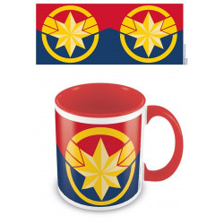 Mug / Tasse - Marvel - Captain Marvel - Coloured Inner Emblem - Pyramid International