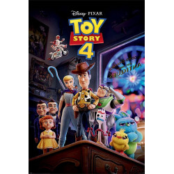 Poster - Disney - Toy Story 4 - Antique Shop Anarchy - 61 x 91 cm - Pyramid International