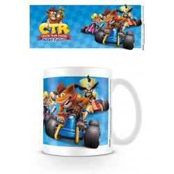 Mug / Tasse - Crash Bandicoot - Team Racing - Pyramid International