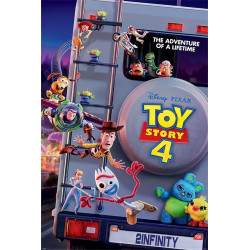 Poster - Disney - Toy Story 4 - Adventure of A Lifetime - 61 x 91 cm - Pyramid International