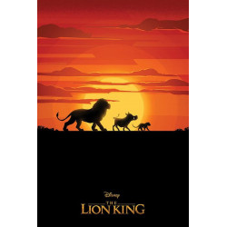 Poster - Disney - Le Roi Lion - Long Live the King - 61 x 91 cm - Pyramid International