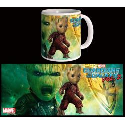 Mug / Tasse - Marvel - Les Gardiens de la Galaxie 2 - Ravager Groot - Semic