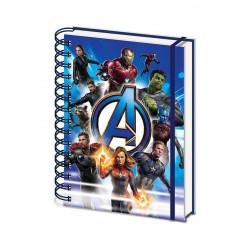 Cahier à spirale - Avengers : Endgame - Wiro One Sheet A5 - Pyramid International