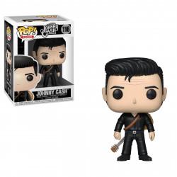 Figurine - Pop! Rocks - Johnny Cash - Johnny in Black - Vinyl - Funko