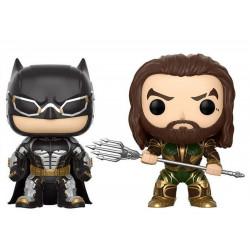 Figurine - Pop! Heroes - Justice League - Batman & Aquaman - Vinyl - Funko