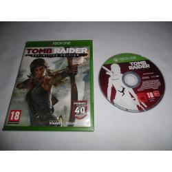 Jeu Xbox One - Tomb Raider : Definitive Edition
