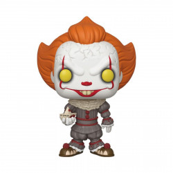 Figurine - Pop! Movies - It 2 - Pennywise with Boat 25 cm - Vinyl - Funko