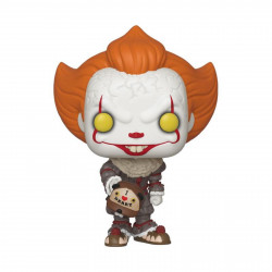 Figurine - Pop! Movies - It 2 - Pennywise Beaver Hat - Vinyl - Funko