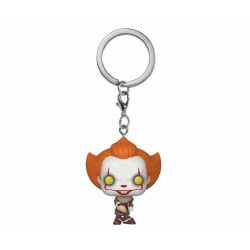 Porte-clé - Pocket Pop! Keychain - It 2 - Pennywise Beaver Hat - Funko