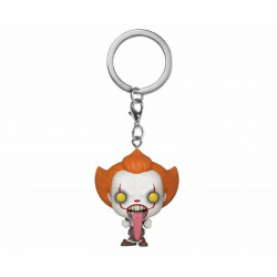 Porte-clé - Pocket Pop! Keychain - It 2 - Pennywise Dog Tongue - Funko