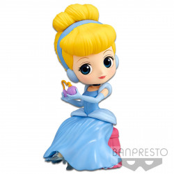 Figurine - Disney - Q Posket - Perfumagic Cendrillon Normal Color Ver. - Banpresto