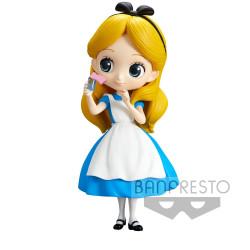 Figurine - Disney - Q Posket - Alice Thinking Time Ver. - Banpresto