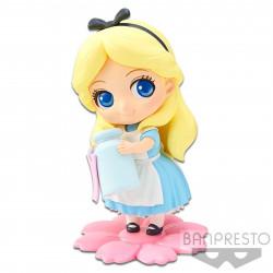 Figurine - Disney - Q Posket - Sweetiny - Alice Milky Color ver. - Banpresto