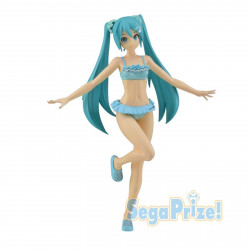 Figurine - Vocaloid - Hatsune Miku Diva Future Swimsuit Ver. - SEGA