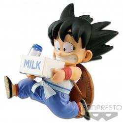 Figurine - Dragon Ball Z - World Figure Colosseum - Goku Milk ver. - Banpresto