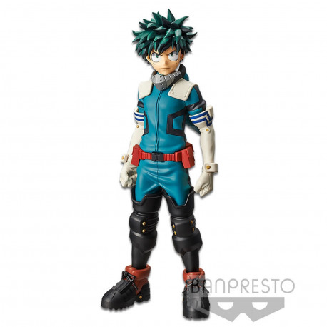 Figurine - My Hero Academia - Grandista - Izuku Midoriya - Banpresto