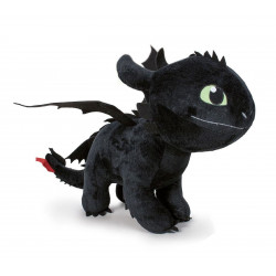 Peluche - Dragons 3 - Toothless (Night Fury) - 60 cm - Play by Play