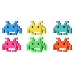 Figurine - Pop! 8-BIT - Space Invaders - Medium Invader - Vinyl - Funko - modèle aléatoire