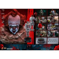 Figurine - Ça : Chapitre 2 - Movie Masterpiece 1/6 Pennywise 32 cm - Hot Toys