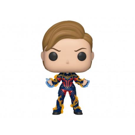 Figurine - Pop! Marvel - Avengers Endgame - Captain Marvel New Hair - Vinyl - Funko