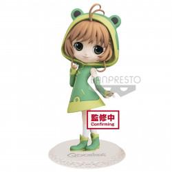 Figurine - Cardcaptor Sakura - Q Posket - Sakura Kinomoto Cute Frog Ver. A - Banpresto