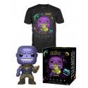 Pack POP & Tee - Marvel - Figurine Pop! & T-Shirt - Avengers Thanos - Funko