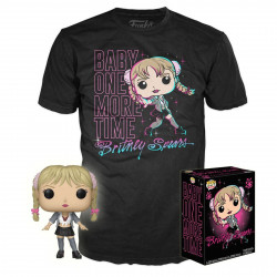 Pack POP & Tee - Britney Spears - Figurine Pop! & T-Shirt - Baby One More Time - Funko