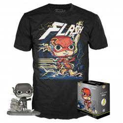 Pack POP & Tee - DC Comics - Figurine Pop! & T-Shirt - The Flash - Funko